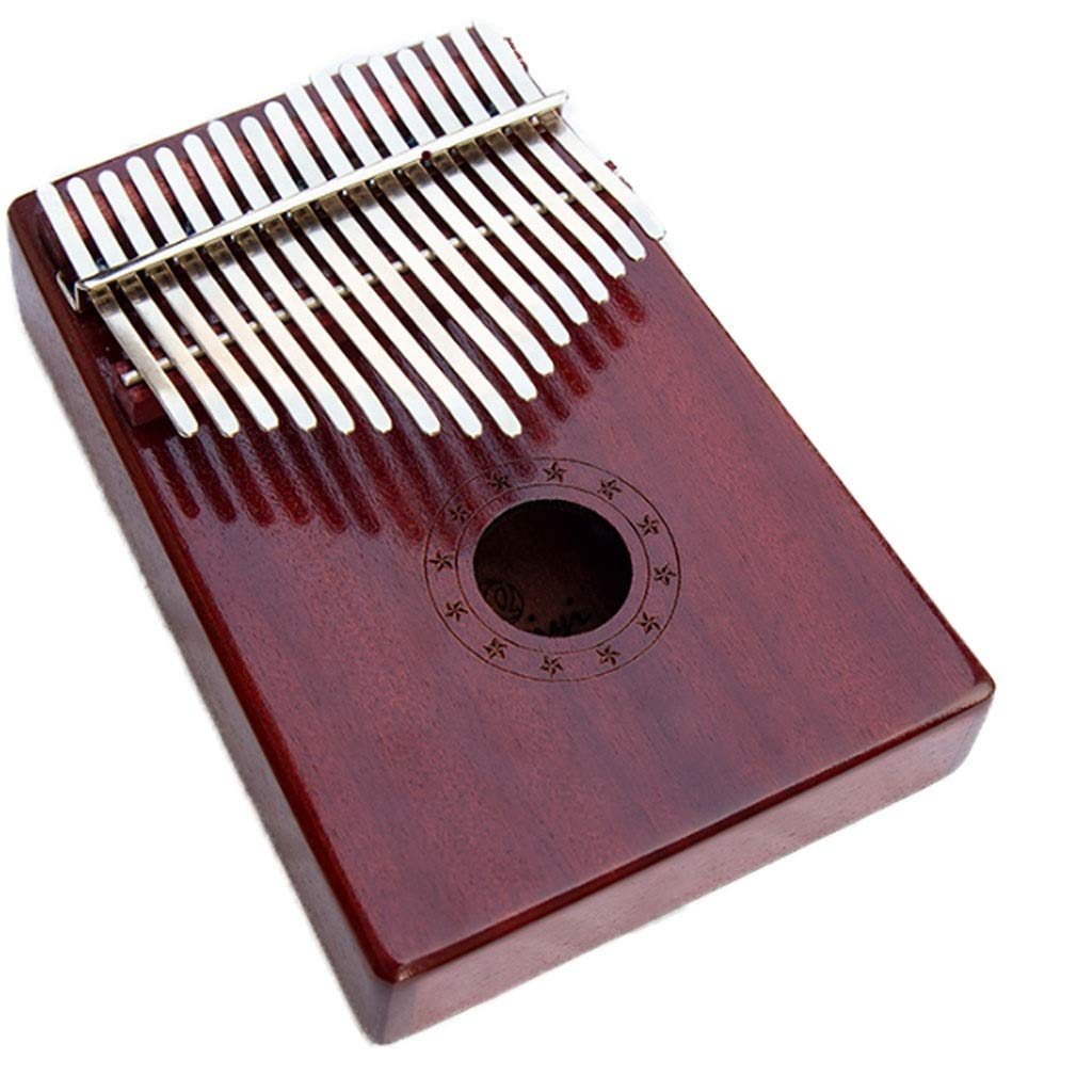 Marimba Kalinba Piano Thumb Piano African Musical Instrument Suitable For Children Adult 17-key Thumb Piano Vibrato Piano Do Not Learn The Instrument Marimbas (Color : A) by ZJY