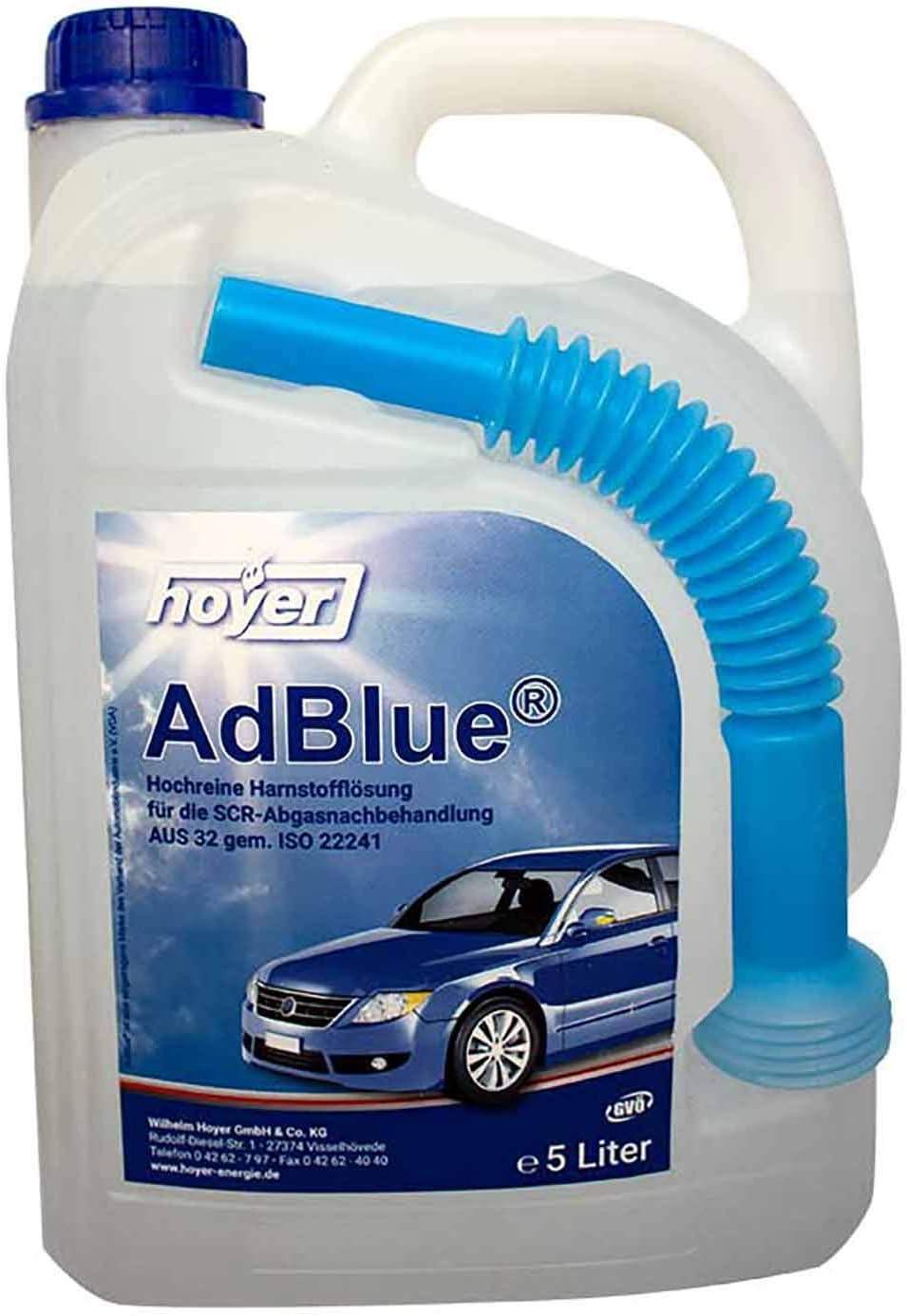 Hoyer 5 Liter Stationpack Adblue Iso 22241 Auto