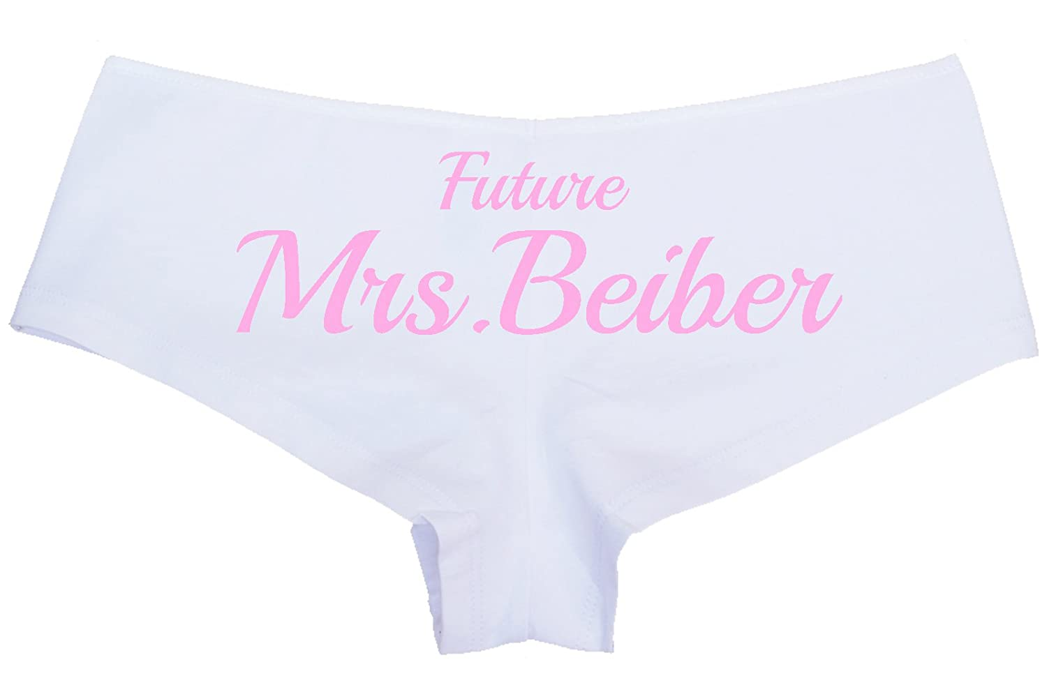 ffe84e309d4e94 Personalized Women s Wifey Future Mrs. Bridal Honyemoon Panties Hot Sexy  Love My Wife at Amazon Women s Clothing store