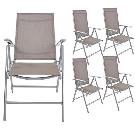 Amazon.com: Livebest - Juego de 2 sillas plegables para ...