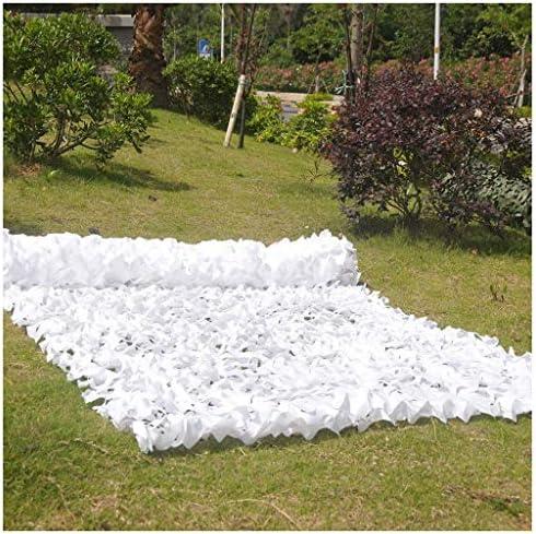 Camouflage Net-SJMWZW Army Camouflage Netting, 5X3M White Camo ...