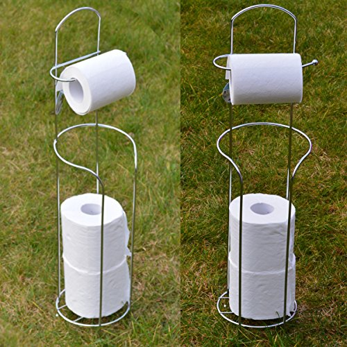 Lado New Design Free-Standing Toilet Roll Holder For Easier Storage