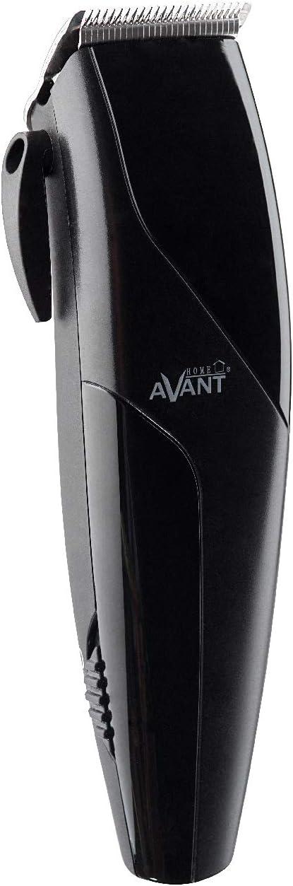 Avant - Cortapelo Profesional Avant - Cuchillas Acero Inox Reforzadas - Con Cable - 4 Peines (3 A 13 Mm) - 10 W - Negro