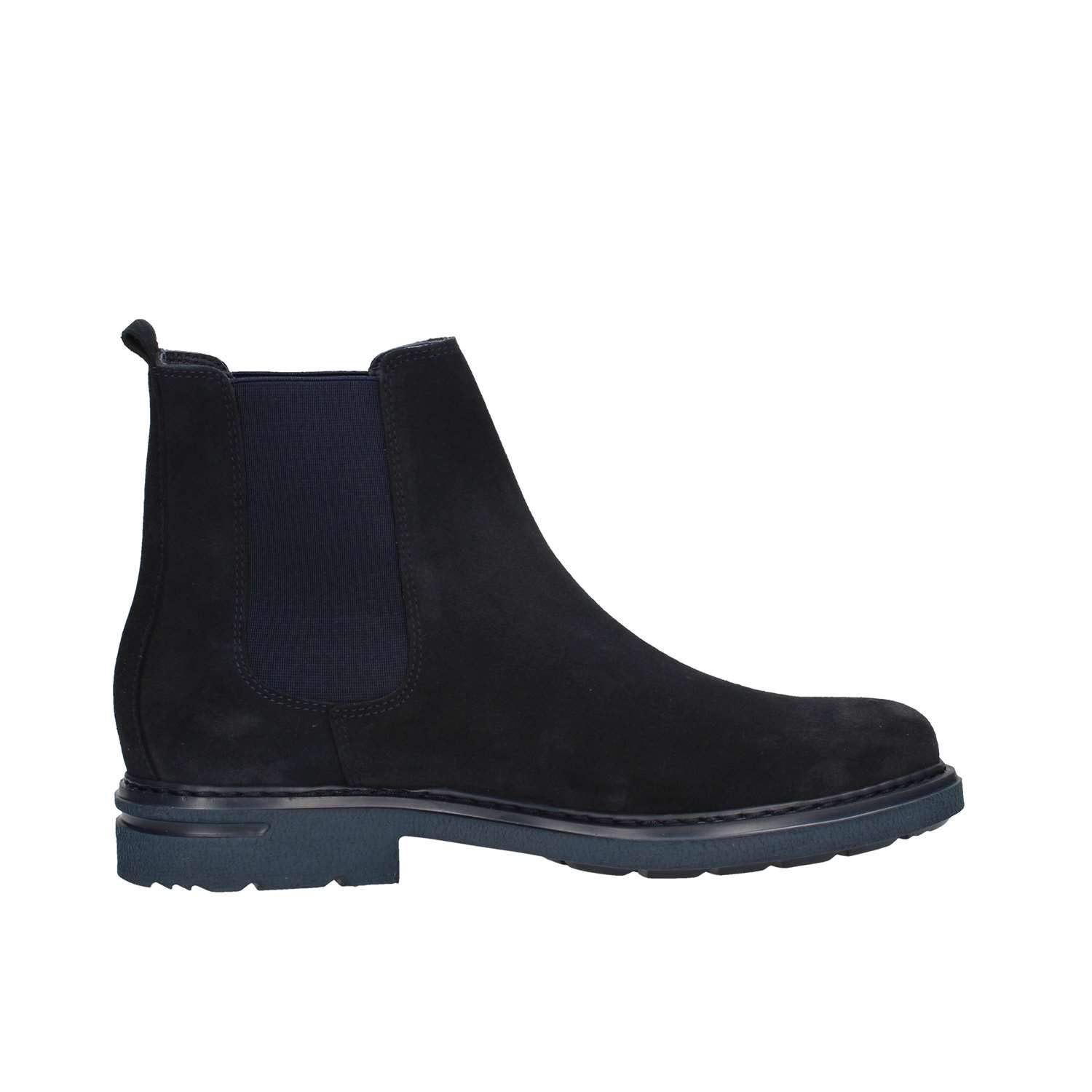 CALLAGHAN 16405 Beatles Shoes Ankle Boots Man Blue Suede