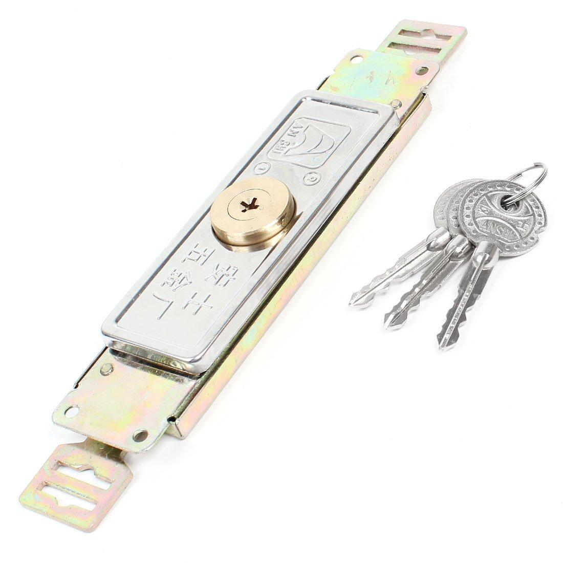 model: G3603VIX-3758HL Aexit Reemplazo de la cerradur de la puerta de la persiana enrollable de seguridad montada con tornillo de tono de lat/ón con llaves