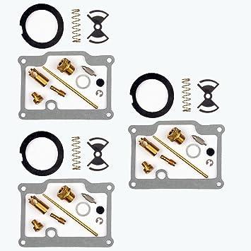 3x Kit Reparación Carburador Aguja del flotador Getor 18-2449: Amazon.es: Coche y moto
