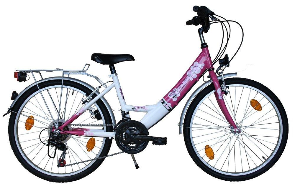 Harmony 24 Zoll Fahrrad Kinderfahrrad 18 Gang SHIMANO STVO Pink ...