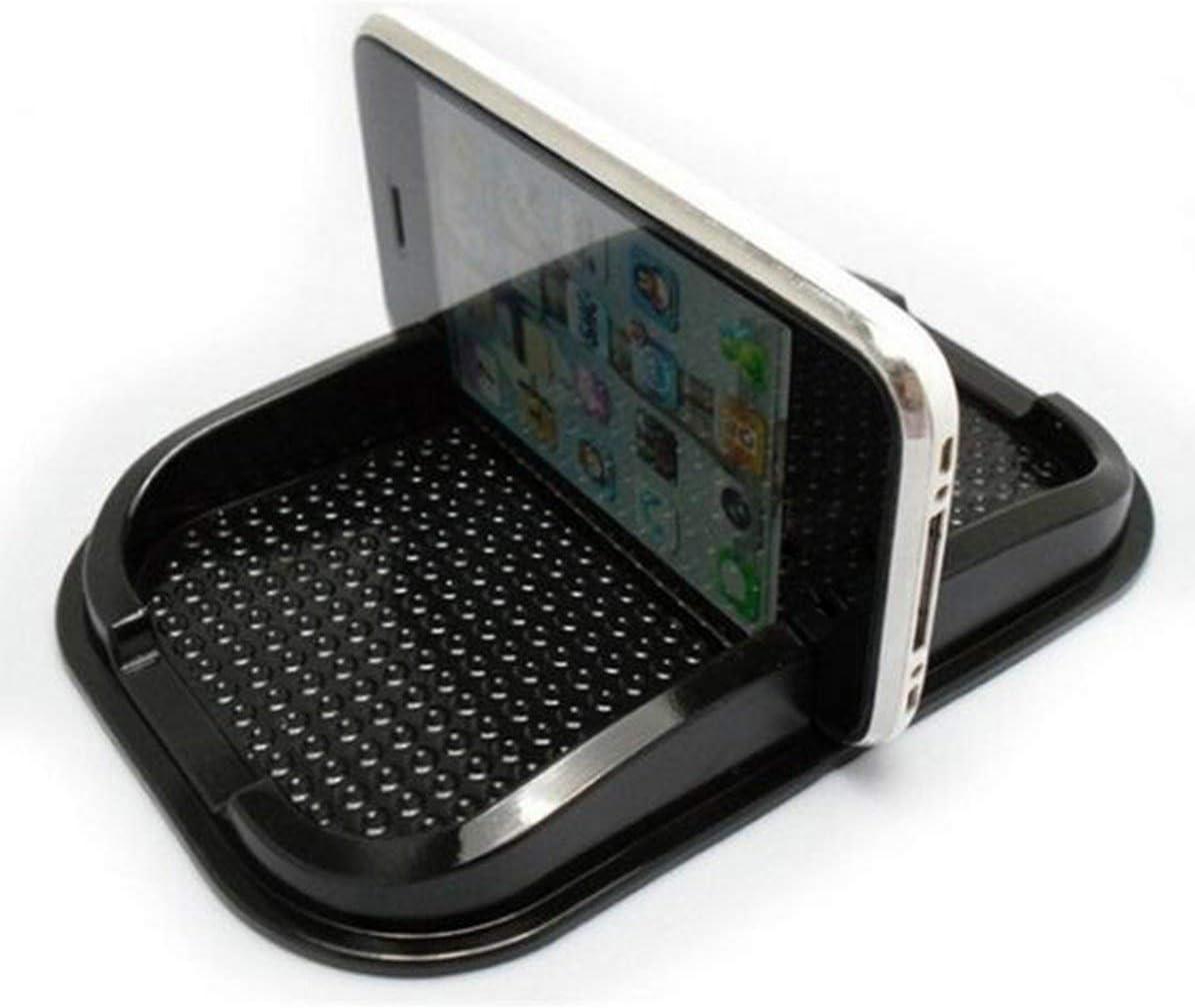 schwarz Sunnyflowk Silikon-magische klebrige Anti-Rutsch-Auto-Matte Anti-Rutsch-Matte f/ür Handy-Pad Navigator Halter