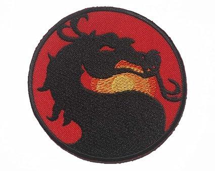 Amazon Mortal Kombat Dragon Sub Zero Mk Logo Sew Iron On Patch