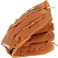 Winomo Handschoen voor de linkerhand, honkbal-softbal, 30 cm, voor outdoorsporten (geel)