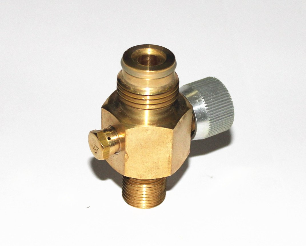 New Paintball 1/4 Turn CO2 Tank On/Off Pin Valve Copper made