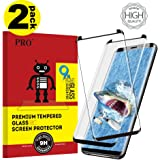 Screen Proetctor for Galaxy S9, Cavalrywolf [2-Pack] Premiun 3D Tempered Glass [Full Coverage] [9H Hardness] [Scratch Terminator] [Ultra Clear] Screen Protector for Samsung Galaxy S9