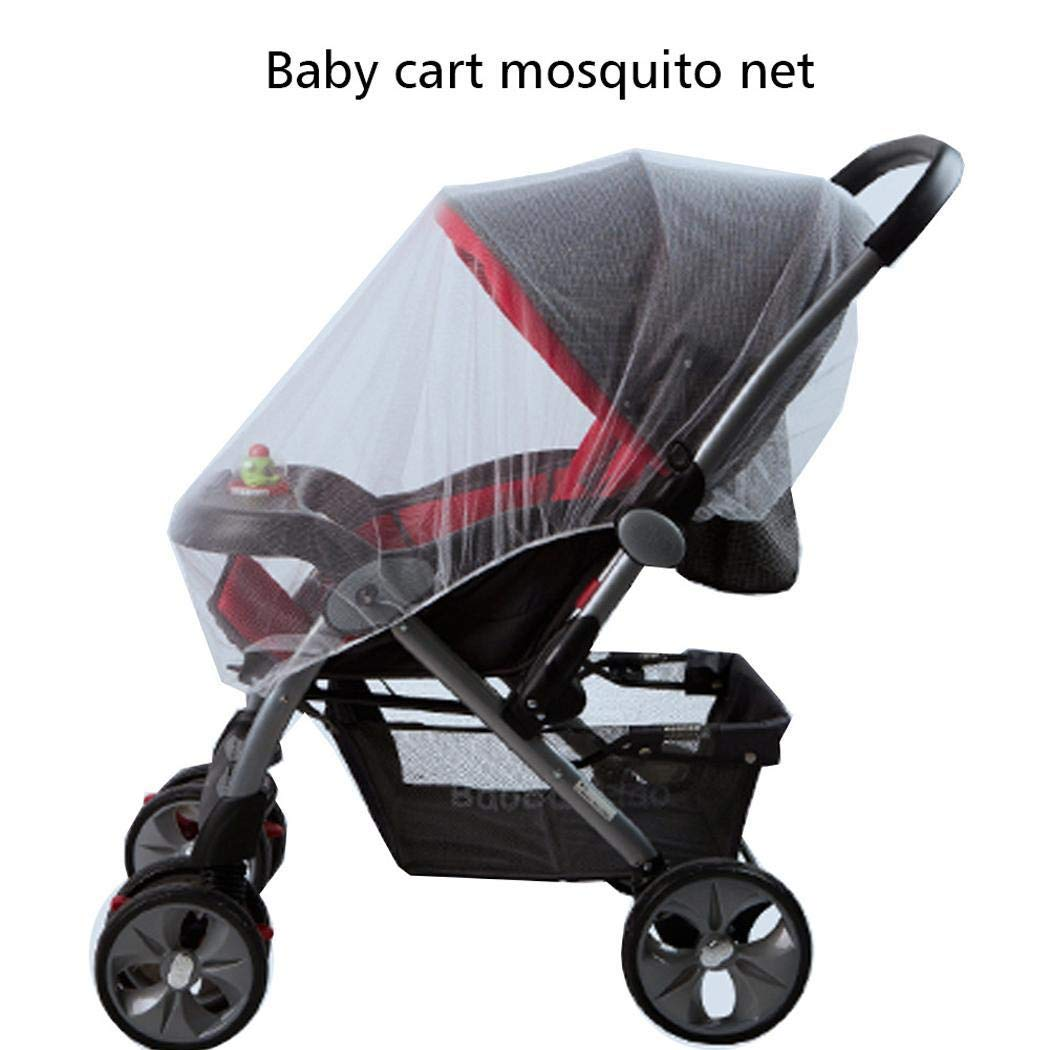 Ailler Baby Stroller Mosquito Net Ultra-Thin Breathable Fully Covered Infant Cart Net Crib Netting