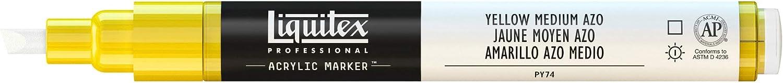 Marker Acrylfarbe Liquitex Professional Paint Acryl Aquagr/ün Leuchtend Acrylmarker 2-4 mm Spitze