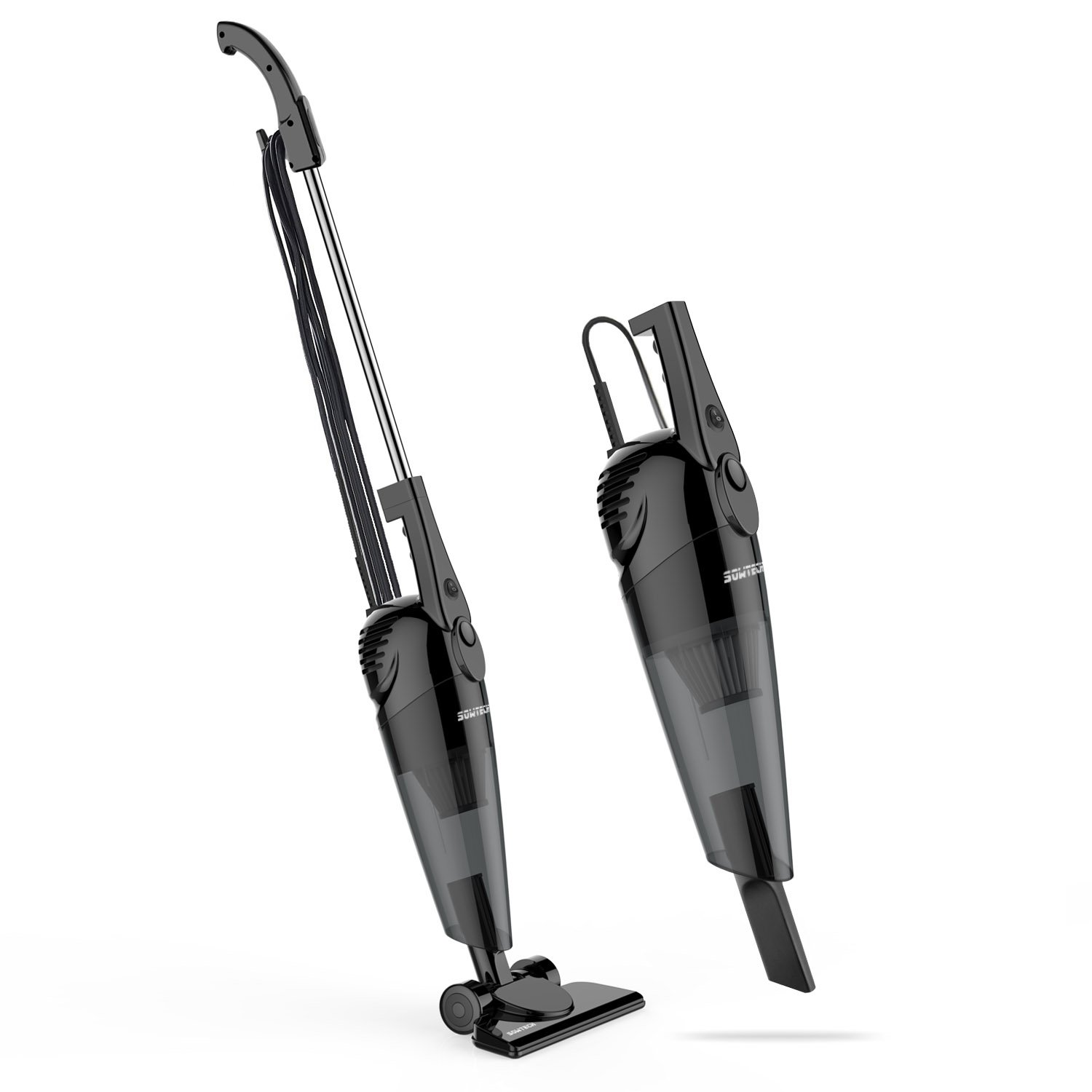 SOWTECH Stick Vacuum 2 in 1 Lightweight Corded Upright and Handheld Vacuum Cleaner, HEPA Filtration (Bagless), Come with Crevice Tool and Brush Accessories ST-HM201