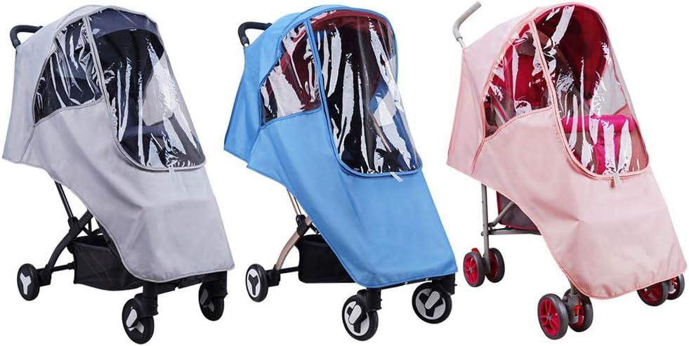 Xingny Xingny Baby Stroller Waterproof Rain Cover EVA Stroller Accessories Universal Wind Dust Shield