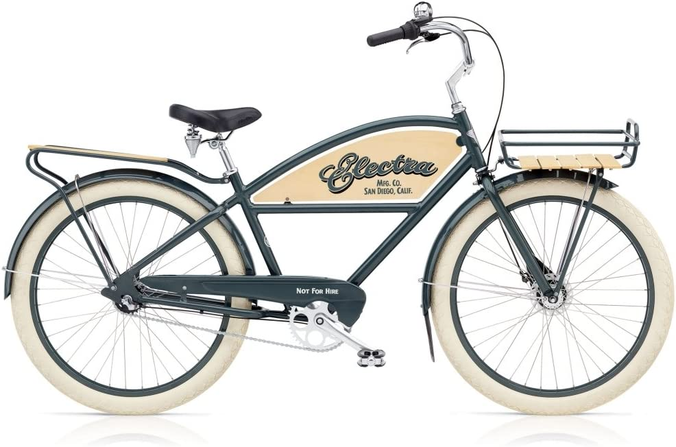 ELECTRA Delivery 3i - Bicicleta de Crucero, Color Gris: Amazon.es ...