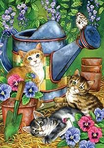 Toland Flag - Garden Kitties