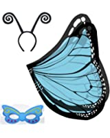 Amazon.com: Kid's Colorful Costume Butterfly Wings: Clothing