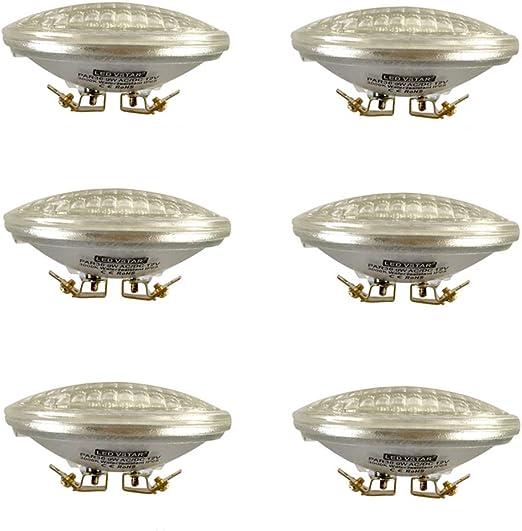 Pack of Vstar LED PAR36 9W 12V Warm White,Multi-Purpose Base,Landscape Lighting