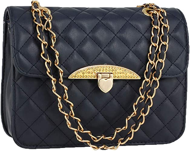 Quilted Luxury Crossbody Bags For Women Small Ladies Cross