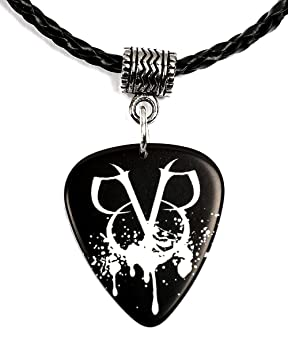 Black Veil Brides BVB Logo Guitar Pick Necklace