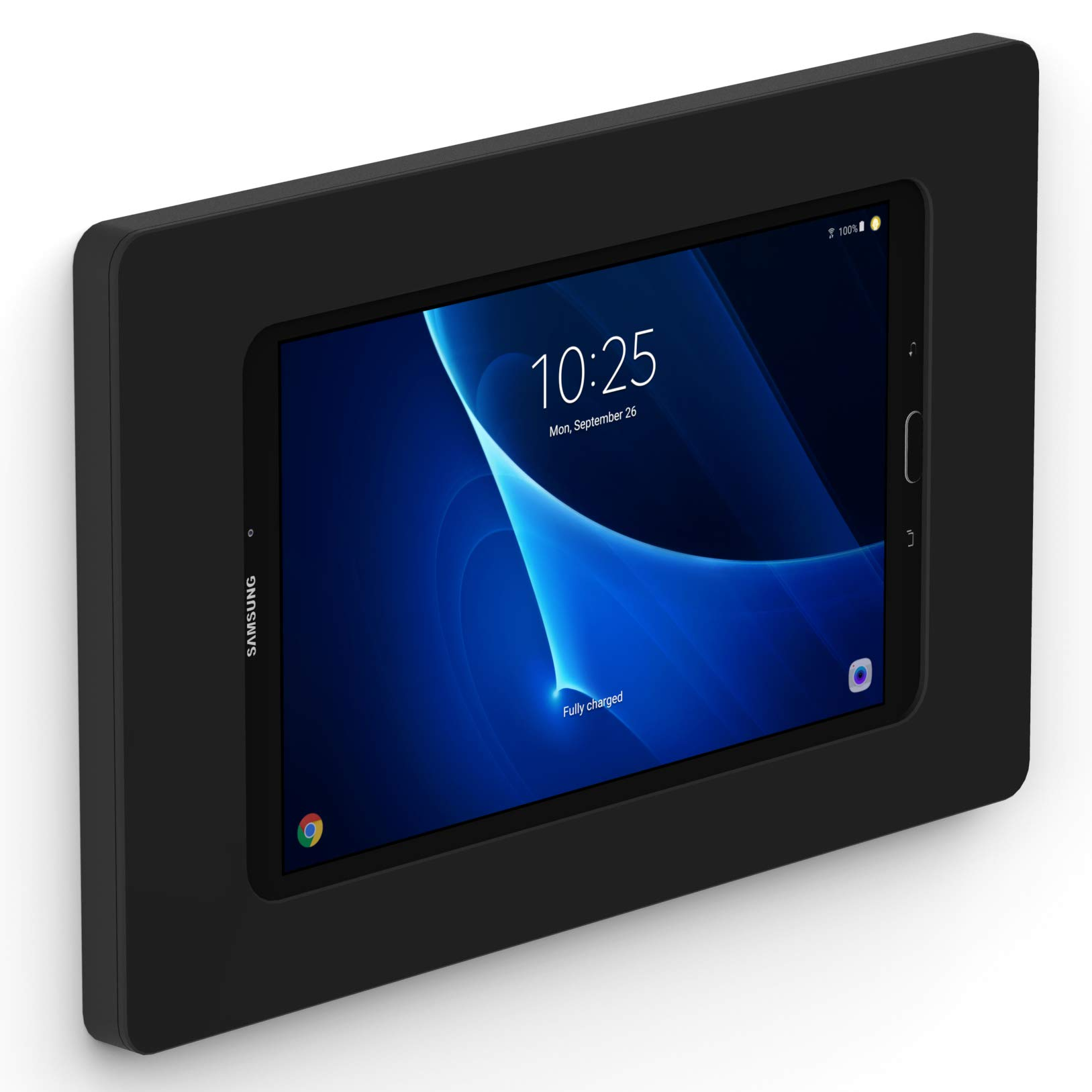 VidaMount Black On-Wall Tablet Mount Compatible with Samsung Galaxy Tab A 10.1