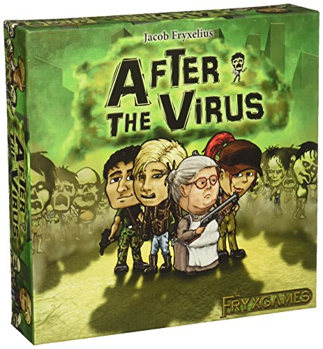 After The Virus Strategy Board Game (Gears Of War Board Game Mission Pack)