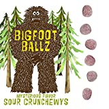 Bigfoot Ballz Sour Candy - Crunchewy Balls - MADE IN THE USA - Best Gag Gift for Dad, Father's Day