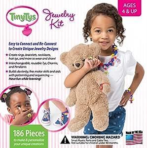 TinyTys (TM) Jewelry Kit 186Pcs