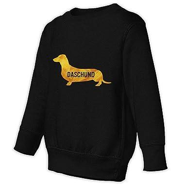 d446029138a Moulton Mansfield Rasta I Love My Daschund Kids  Cotton Crewneck Pullover  Sweatshirts