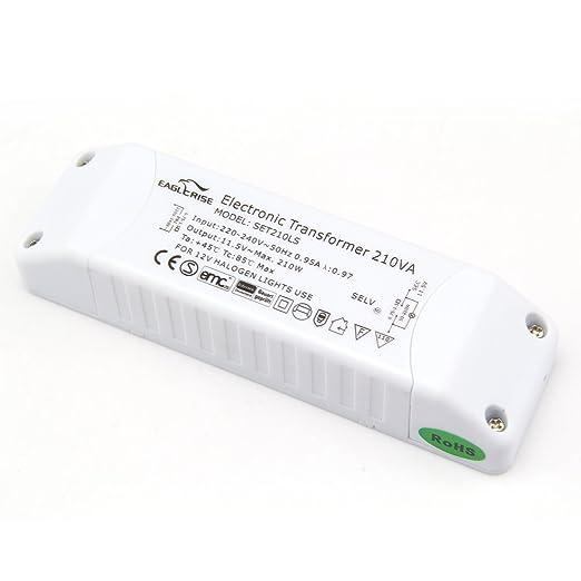 Eaglerise Transformateur Electronique Pour Lampe Halogene Ca 230v