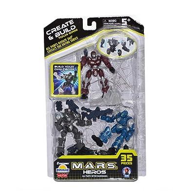 Cybotronix M.A.R.S. Heros: Toys & Games