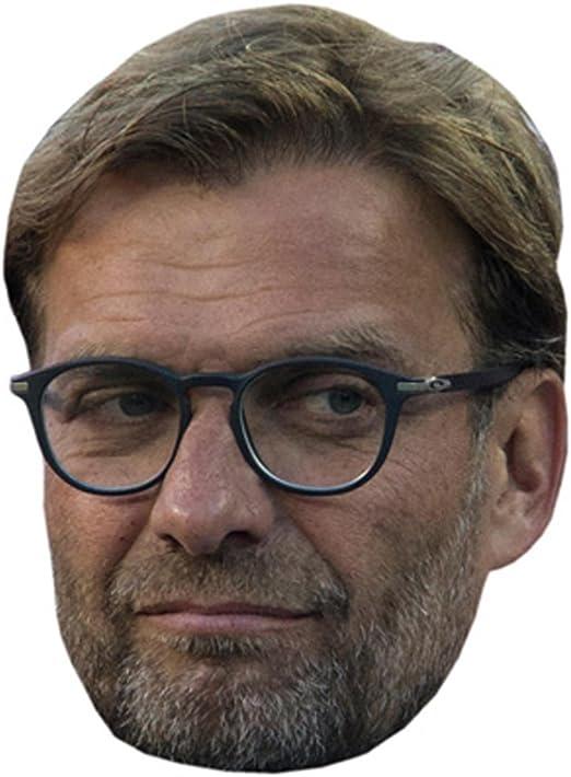 Jurgen Klopp Célébrité Masque Carte Visage Et Déguisement Masque