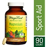 MegaFood - Magnesium, Supports the Health of the Heart & Nervous System, 90 Tablets (FFP)