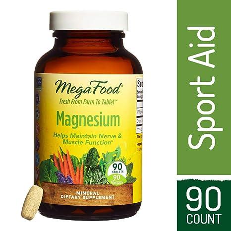 El magnesio, 90 Tabletas - MegaFood