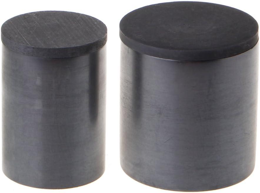 Lamdoo Haute Puret/é du Graphite la Fonte Crucible Tasse pour la Fonte Or Argent Cuivre Laiton 30 x 40 MM//1.2x 1.6