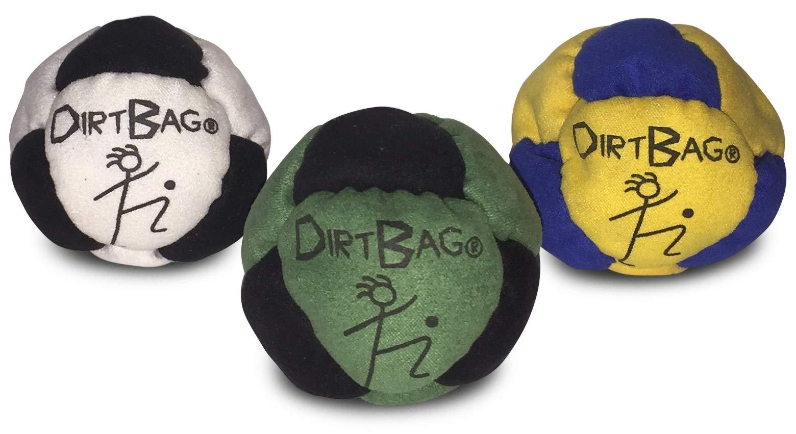 World Footbag Hacky Sack Footbag, 3 Pack by World Footbag