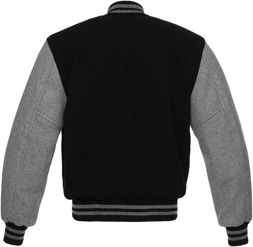 5 Team Colors Wool XXS to 6XL,Original Stewart /& Strauss Original All Wool Varsity Letterman Jackets