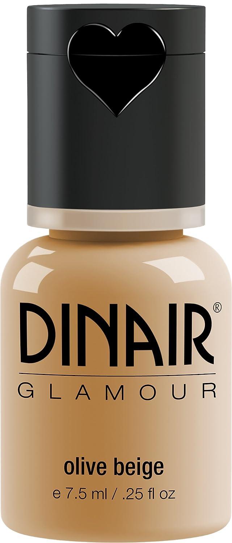 Dinair Airbrush Makeup Foundation | Olive Beige | GLAMOUR: Natural, Light coverage, Matte 0.25 oz.