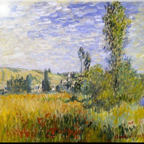 Rikki Knight RK-8intilec-3636 8 X 8 Claude Monet Art Vetheuil Design Ceramic Art Tile