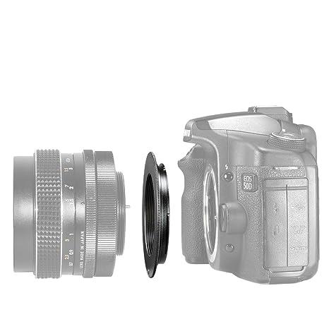 costo moderato fabbricazione abile acquista per il meglio Neewer Adattatore per montaggio di obiettivi M42 obiettivo per fotocamera  Canon EOS, in metallo nero