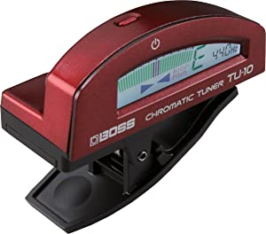 Boss TU-10 Clip-On Chromatic Guitar & Bass Tuner