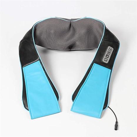 Collo e schiena Massaggiatore Cuscino Massaggio Shiatsu con calore tessuto profondo massaggia.