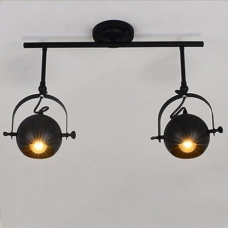 Proyector Industrial Retro Americano Creativo LED Luces de Pista ...