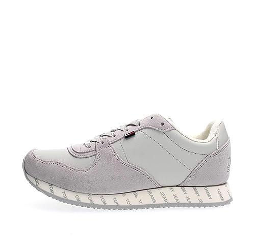 TOMMY HILFIGER EN0EN00394 Zapatillas DE Deporte Mujer: Amazon.es: Zapatos y complementos