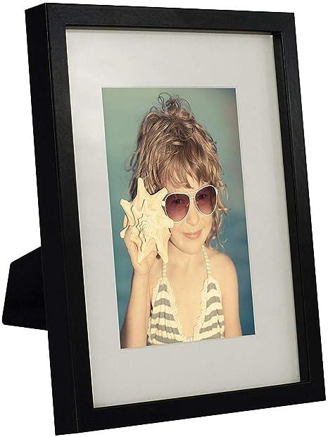 Black Modern Photo Picture Frame 6x4 5x7 8x6 10x8 A4 Certificate Standard