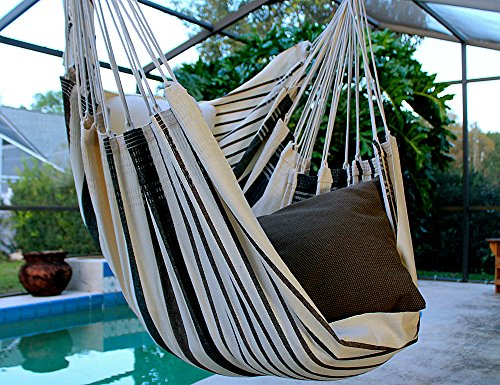 Coconut Flavor – Fine Cotton Hammock Chair, Made in Brazil