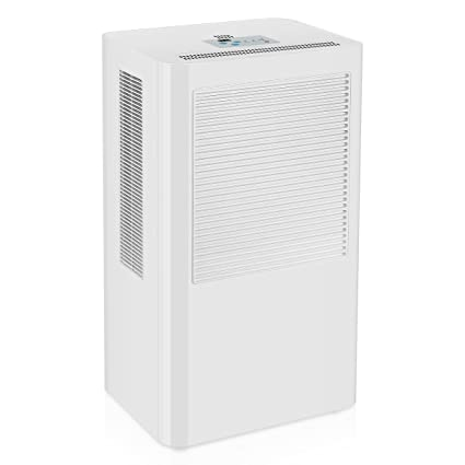 Wonderful Powilling 5500 Cubic Feet Smart Home Dehumidifier With Drain Hose,  Intelligent Humidistat U0026 Touch Panel