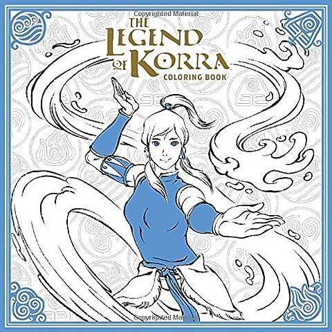 The Legend of Korra Coloring Book (Avatar: The Last Airbender) (Art Avatar)